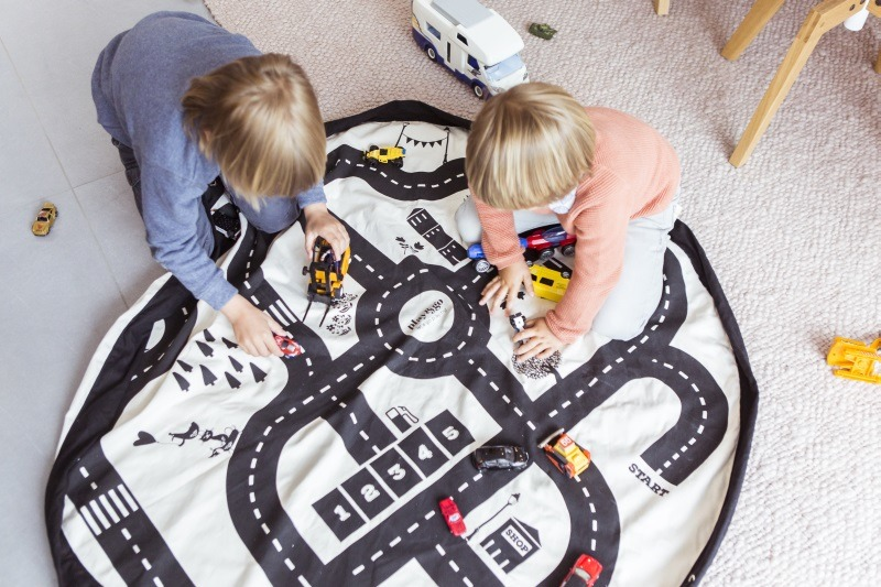 Play&Go - Road Map Toy storage bags