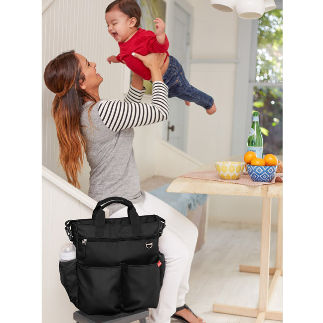 Skip Hop - Diaper Bag Duo Signature Black