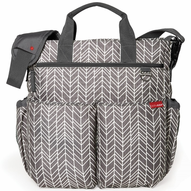 Skip Hop - Diaper Bag Duo Signature Grey Feather