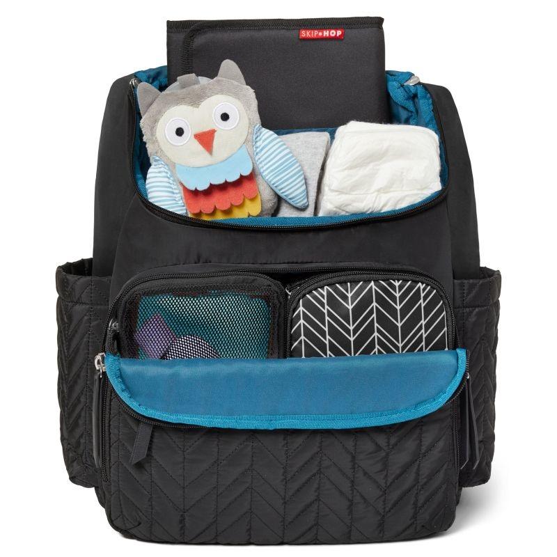 f75846f5a6 ... Skip Hop - Forma backpack diaper bag black - Jet Black ...