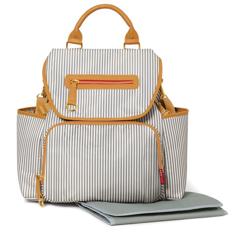 Skip Hop - Grand Central French Stripe Backpack