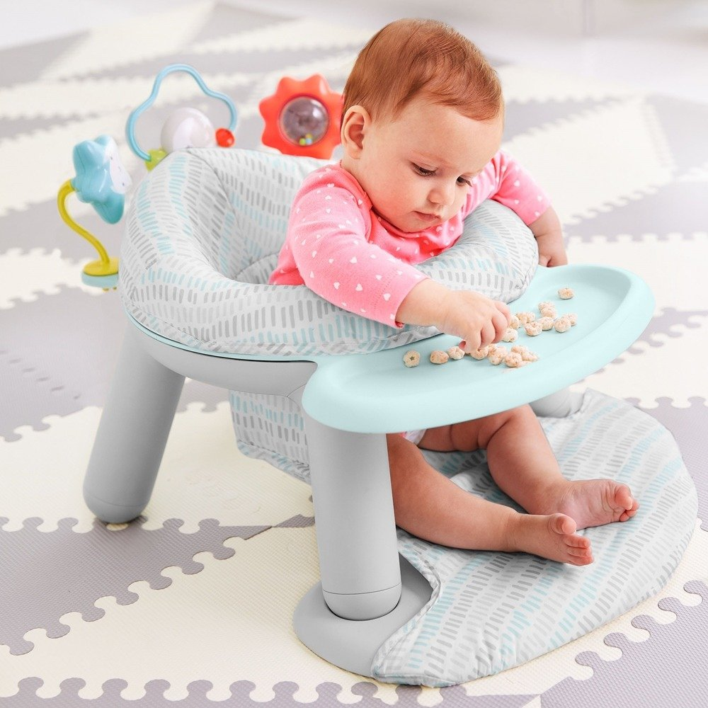 Skip Hop - Silver Lining Cloud 2 in 1 Activity Floor Seat