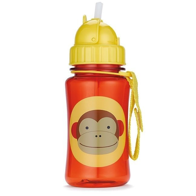 Skip Hop - Straw Bottle Monkey