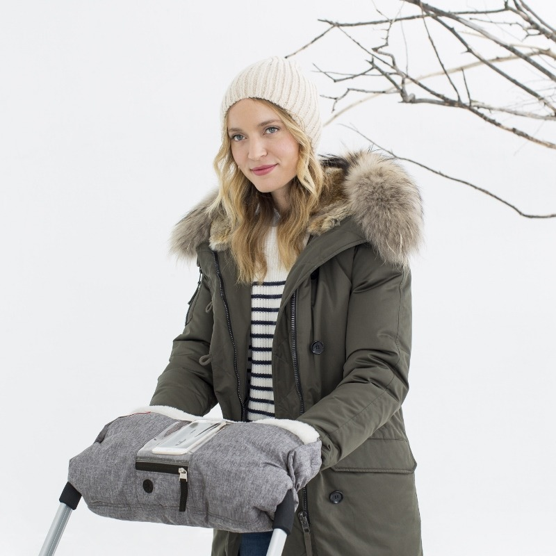 Skip Hop - Stroll & Go on-call hand muff, heather grey