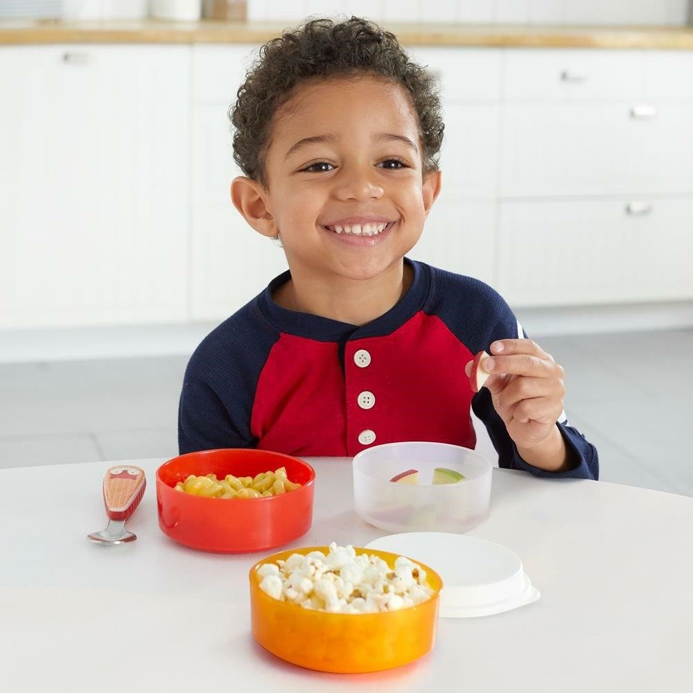Skip Hop - Zoo Smart Serve Non-Slip Bowls-Fox