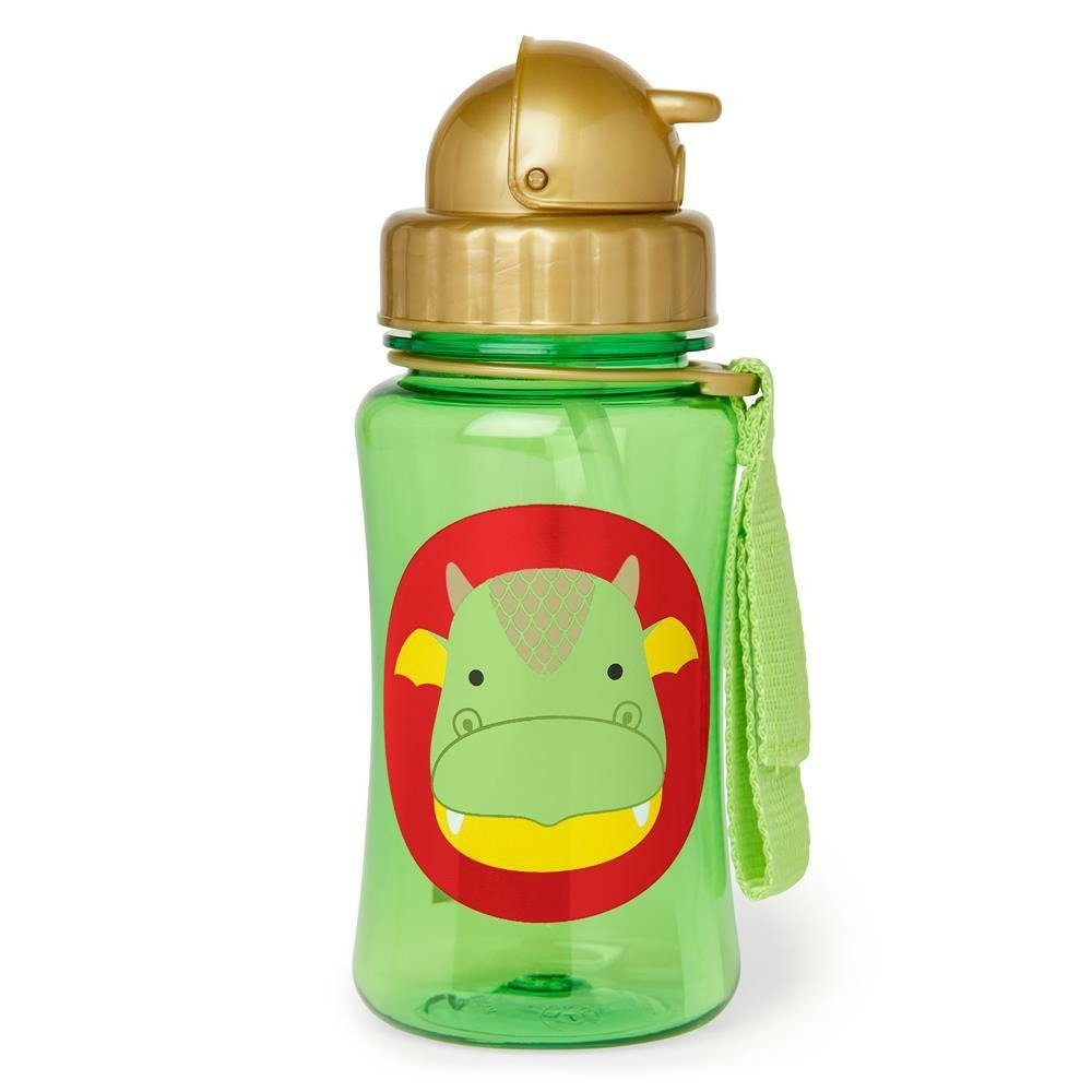 Skip Hop - Zoo Straw Bottle Dragon