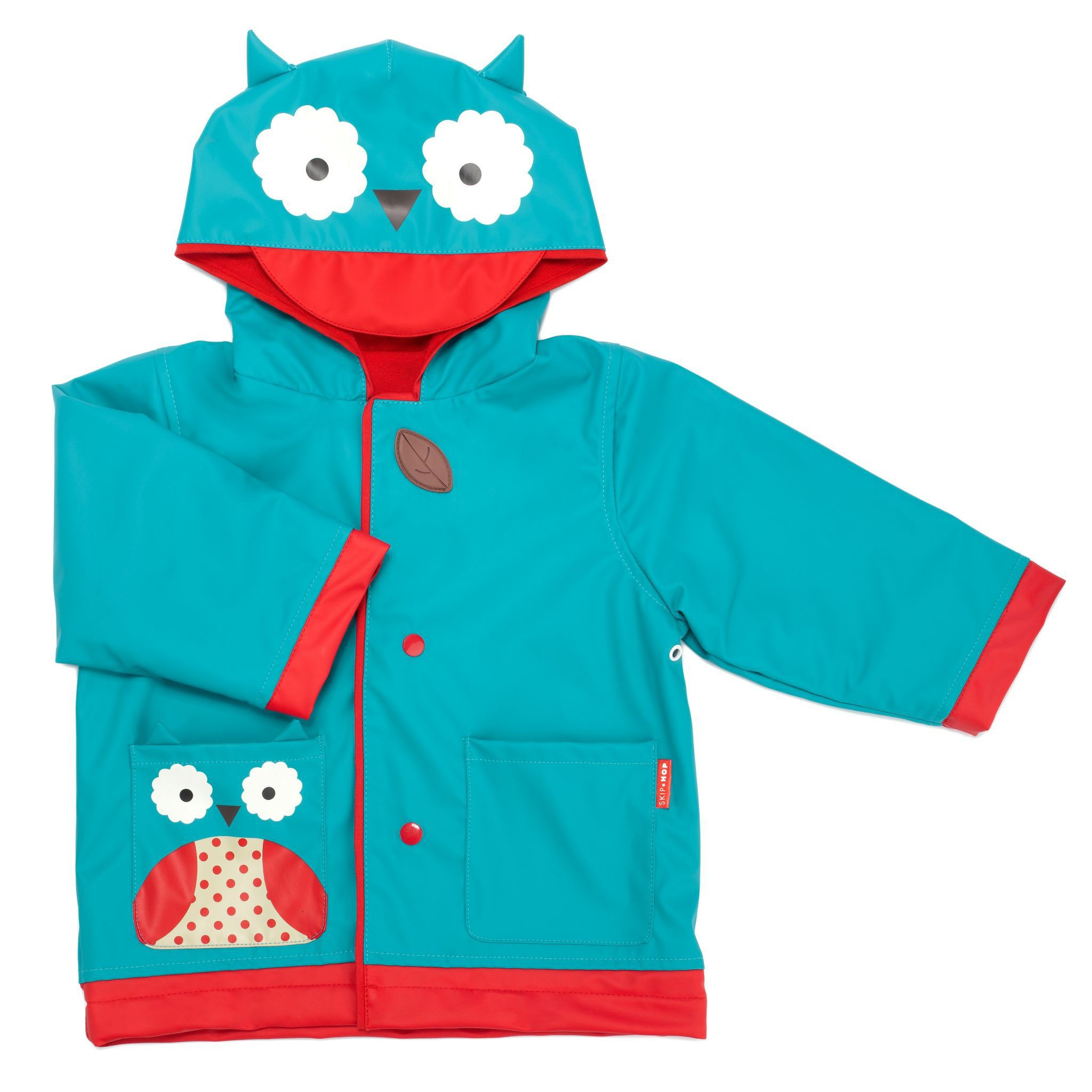 Skip Hop - little kid raincoat Owl
