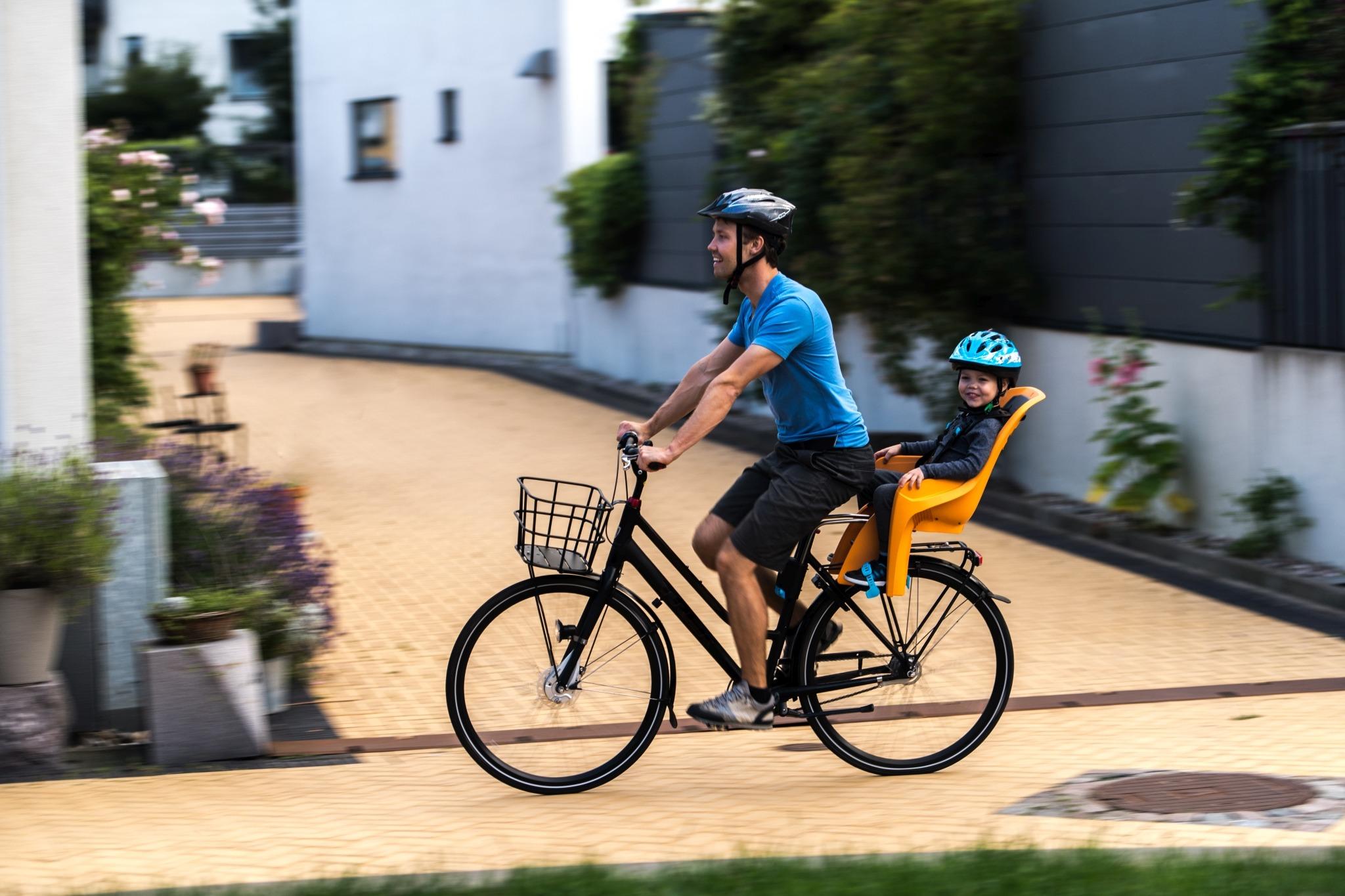Thule Ridealong Lite Child Bike Seat Grey
