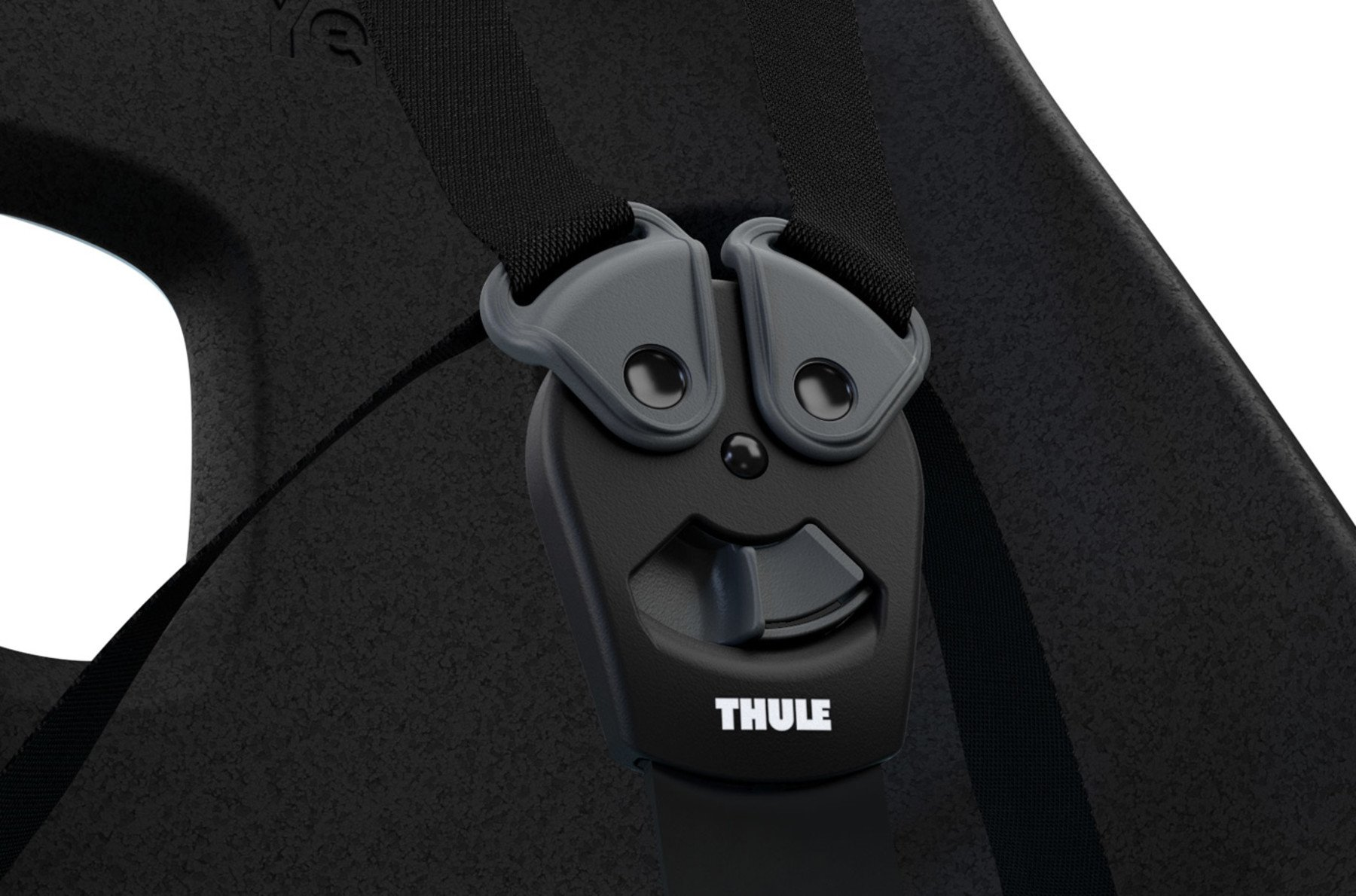 THULE Yepp Nexxt Maxi Frame Mounted - Child bike seat - Obsidian