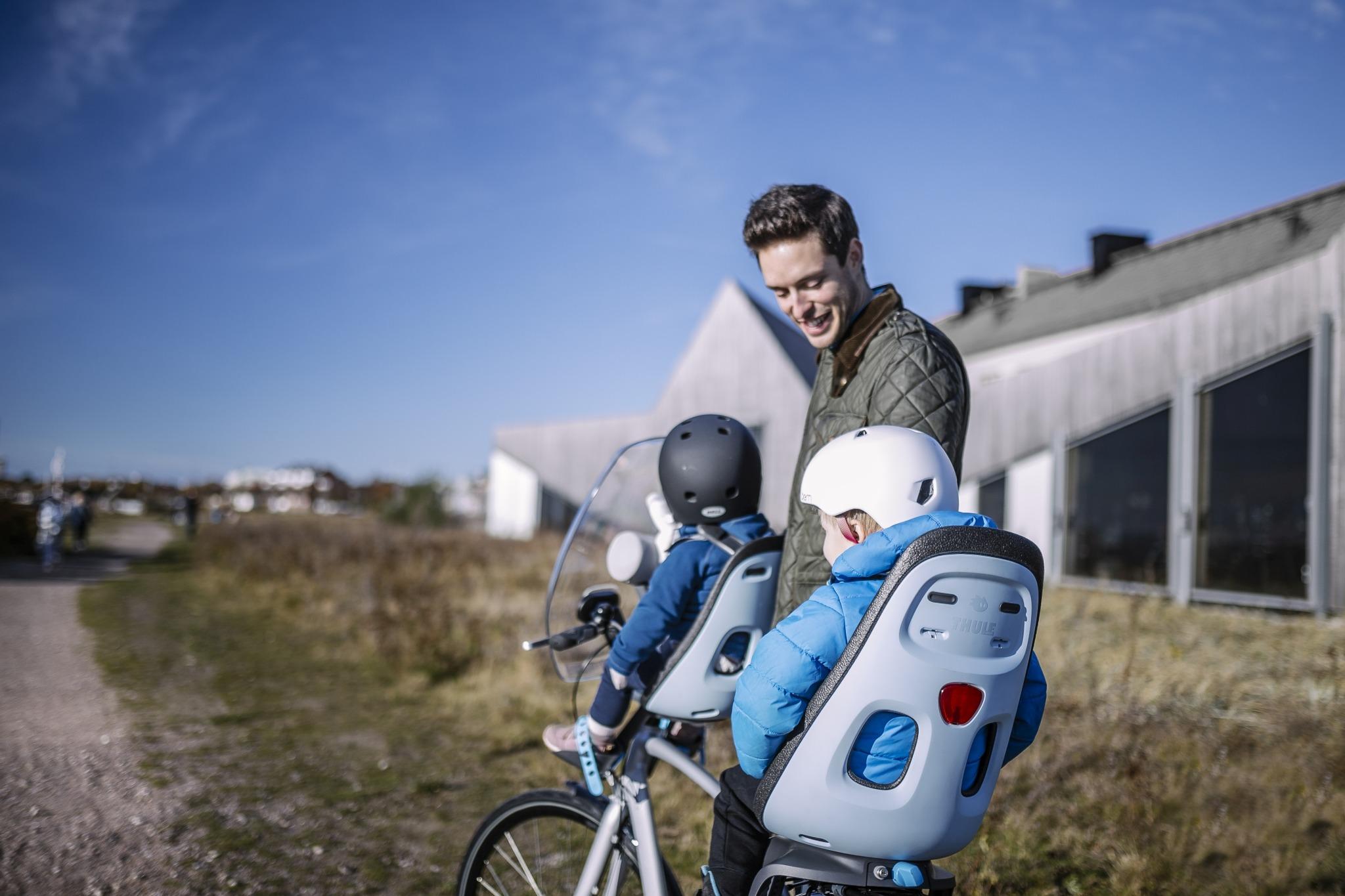 Thule Yepp Nexxt Mini Child Bike Seat Orange Scandinavian Baby