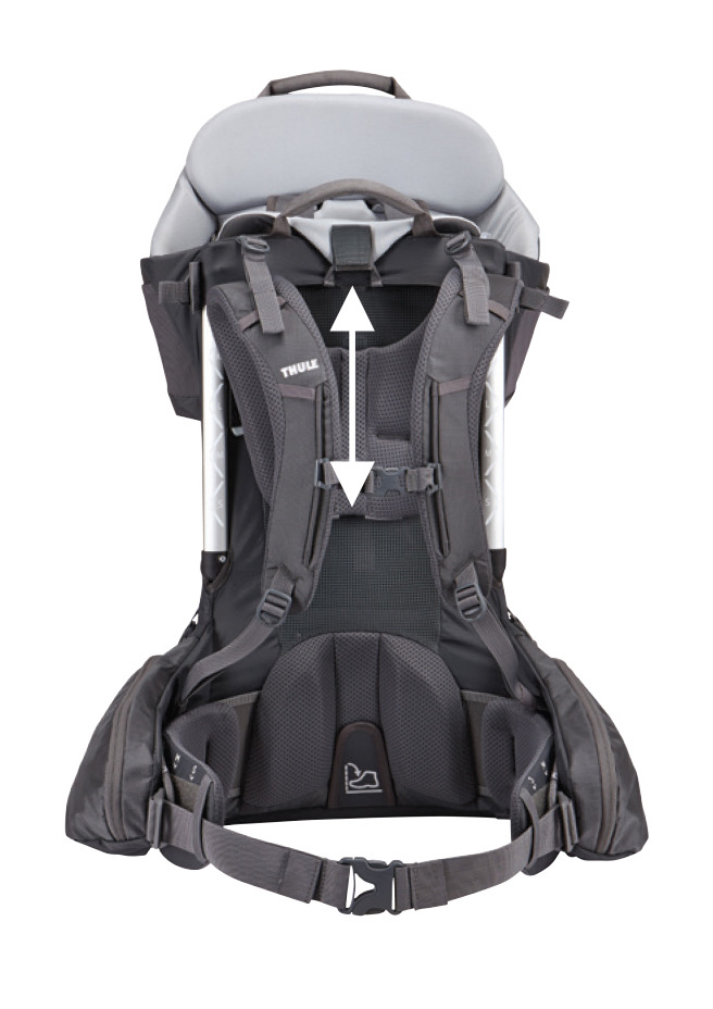 Thule Sapling Elite Child Carrier Dark Shadow