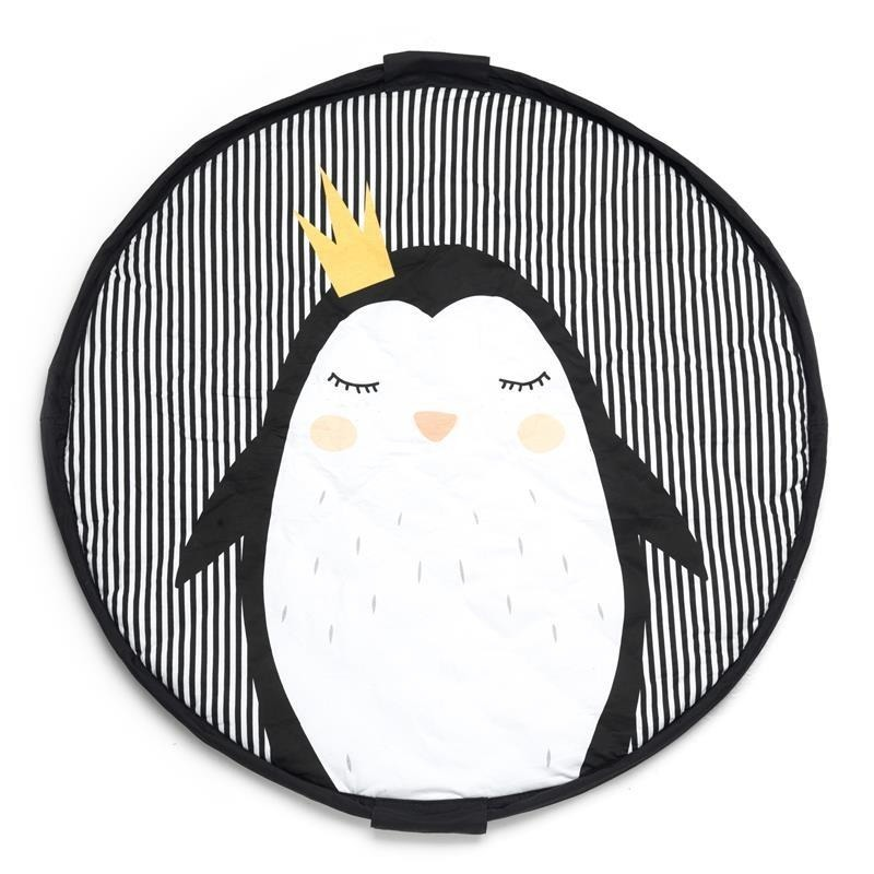 Travelbag & playmat Pinguin