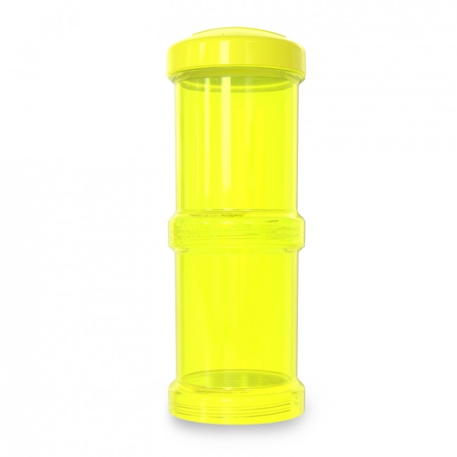 Twistshake - Container 2x 100ml / 3oz Yellow