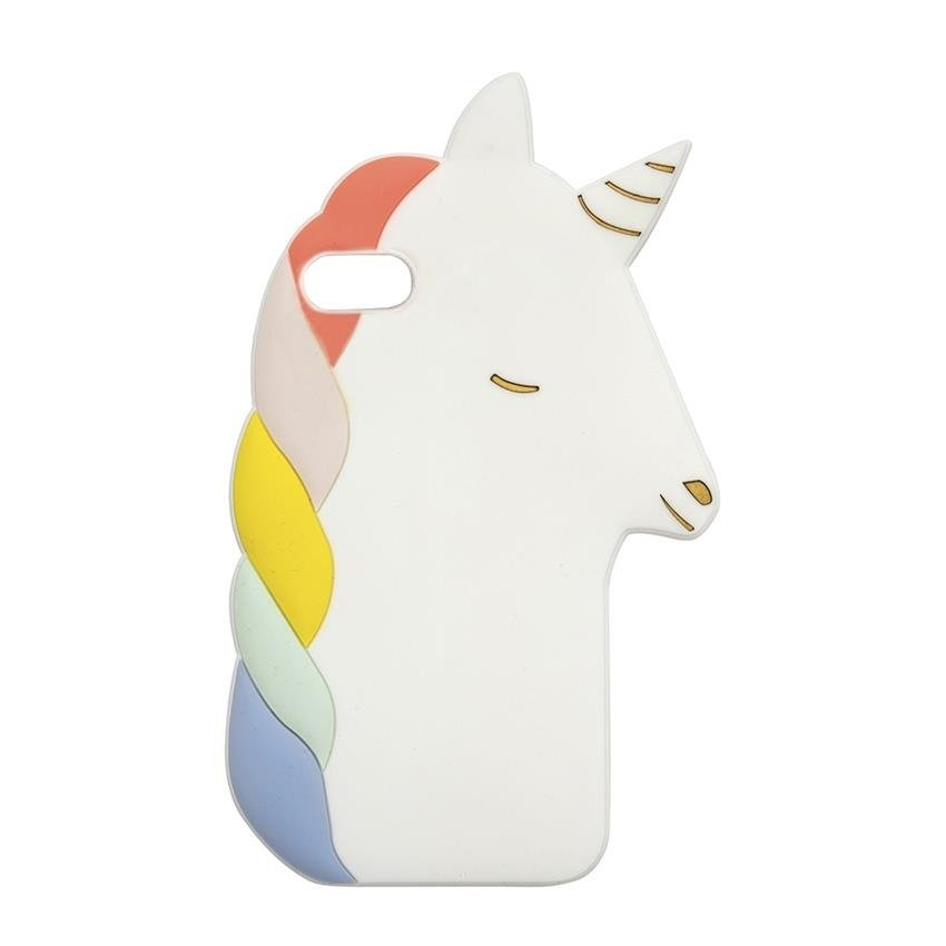 Unicorn Soft Silicone iPhone Case (6 7 & 8)