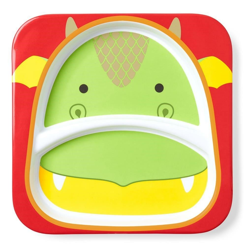 Skip Hop - Zoo Divided Plate - Dragon
