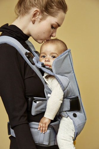 BABYBJÖRN - Baby Carrier ONE AIR, Dusk Blue
