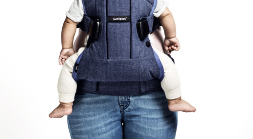 BABYBJORN Baby Carrier ONE Air, silver