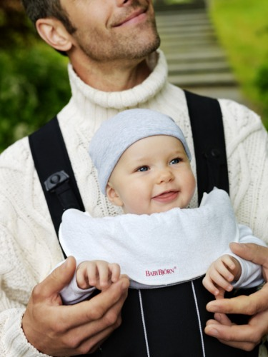 BABYBJÖRN - Bib for Baby Carrier - White