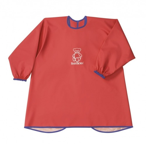 BABYBJORN - Eat and Play Smock - Red