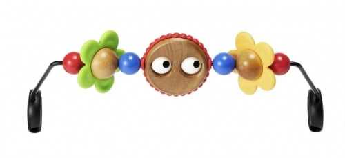 BABYBJÖRN - Wooden Toy for Bouncer BALANCE SOFT Googly eyes