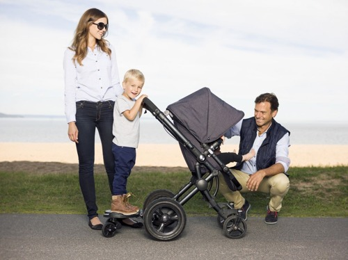 BUMPRIDER - Stand-on Board - Grey