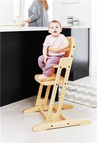 Baby Dan - DANCHAIR feeding chair - natural