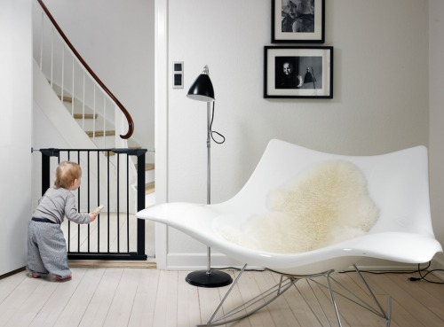 Baby Dan - Premier Safety Gate, black