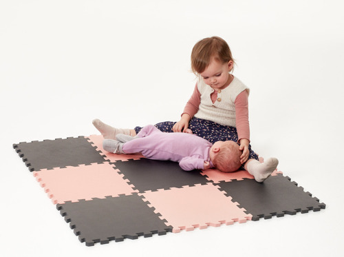 Baby Dan - Soft foam play mat, pink