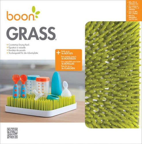 Boon - Grass Countertop drying rack Green