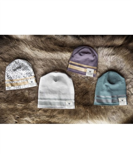 Elodie Details - Winter Beanie - Gilded Dots of Fauna 24-36 m