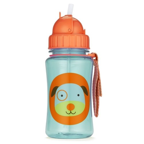 Skip Hop - Straw Bottle Dog