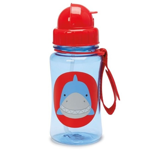 Skip Hop - Straw Bottle Shark