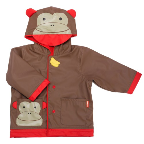 Skip Hop - little kid raincoat Monkey