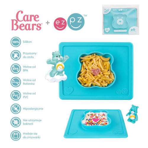 care bears™ bowl in wish bear™ - teal