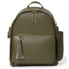 Skip Hop - Greenwich Simply Chic Backpack - Olive